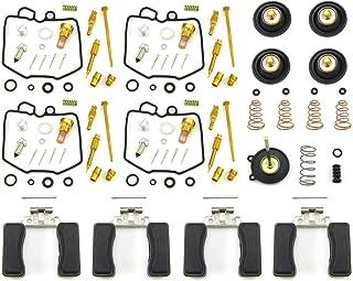 82-83 GS1100G GS1100GL Set of 4 80 GS1100L DP 0101-112 Carburetor Rebuild Repair Parts Kit Compatible with Suzuki 80-83 GS1100E 82 GS1100GK
