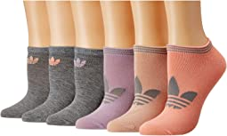 Originals Trefoil Superlite 6-Pack No Show Sock
