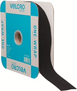 VELCRO Brand - ONE-WRAP Roll, Double-Sided, Self Gripping Multi-Purpose Hook and Loop Tape, Reusable, 45' x 1 1/2