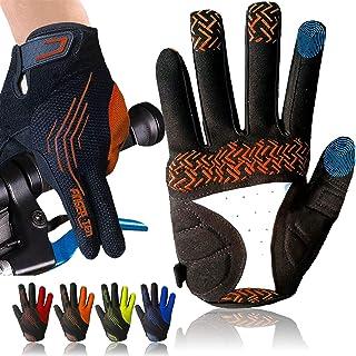 Cycling Gloves for Men Full Finger Gel Padded Touchscreen MTB Breathable, Mountain Bike Gloves Men Women Anti-Slip Comfort...
