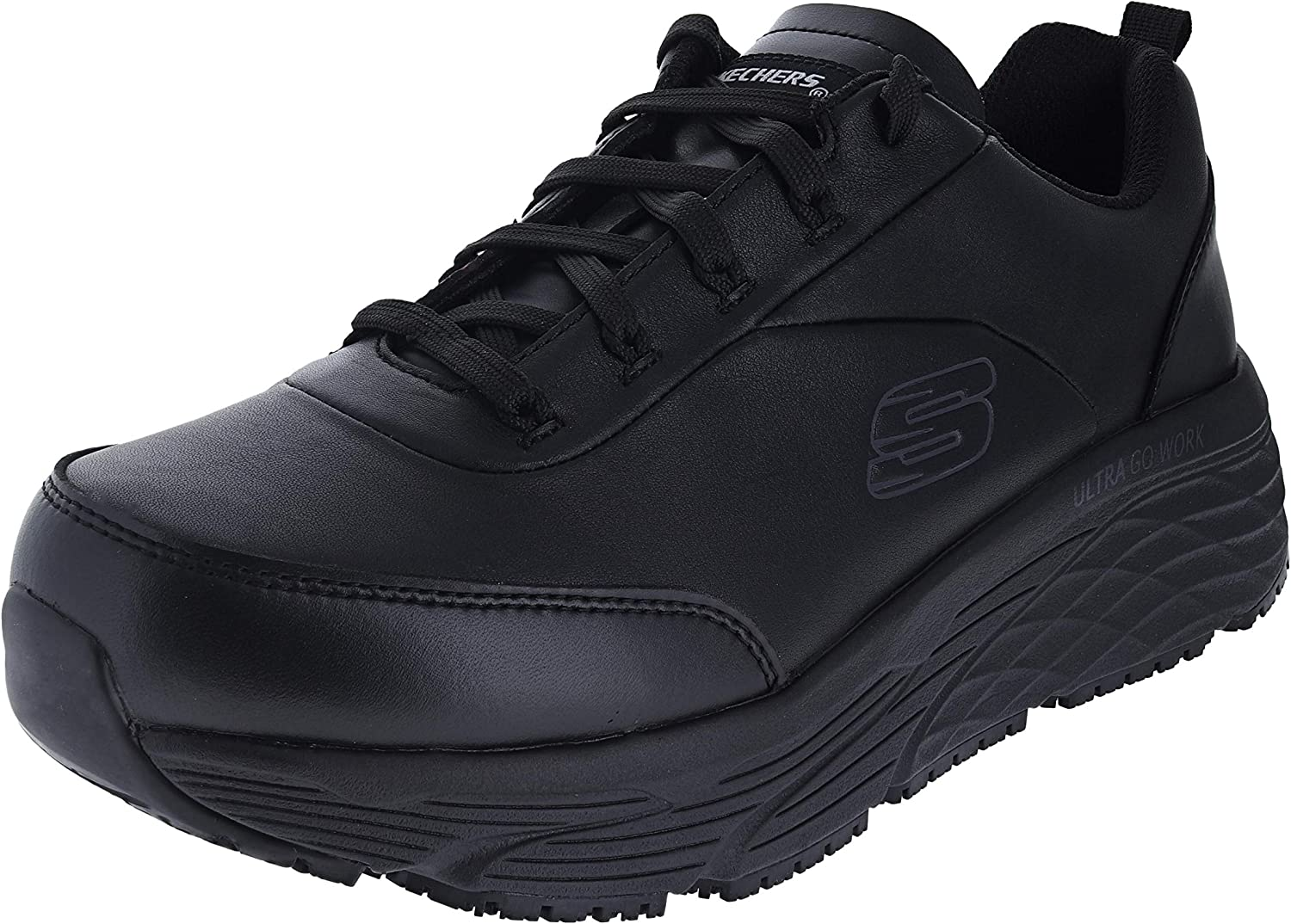 Skechers Men's Work Relaxed Fit Max