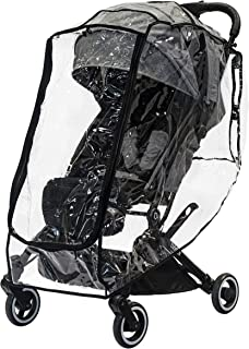 Fits Most Brands of Strollers incl Full-Sized and Jogger Well Ventilated Weather Shield Waterproof Raincover Features Unique Zipped Front Opening Clear guzzie+Guss Universal Stroller Rain-Cover