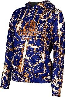 Lincoln University (PA) Women's Pullover Hoodie, School Spirit Sweatshirt (Distressed)