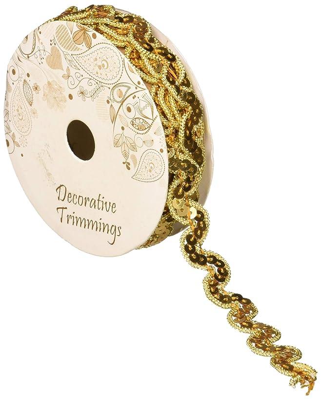 Decorative Trimmings 14035-C-003F-070 Sequin Trim, 7/16