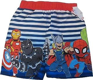 Toddler Boys Marvel Avengers Swim Trunks UPF +50 Size 3T…