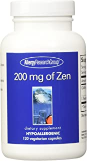 Allergy Research Group 200 Mg of Zen - 120 Vegetarian Capsules