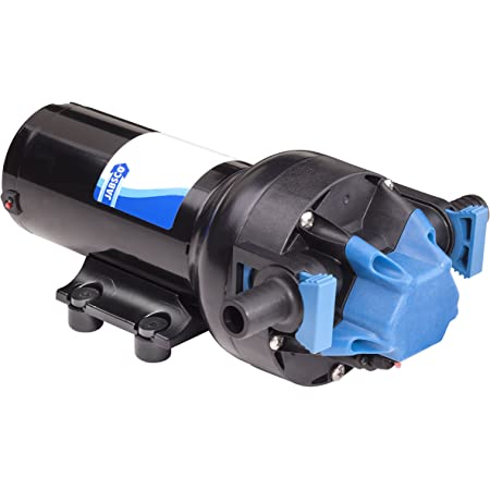 Jabsco Par-Max 2.9 GPM Water Pressure Pump 25 PSI 24v #31395-0094
