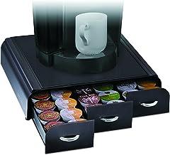 Mind Reader 'Anchor' 36 Capacity Single Serve Coffee Pod Storage Drawer, 3 Drawers, Black