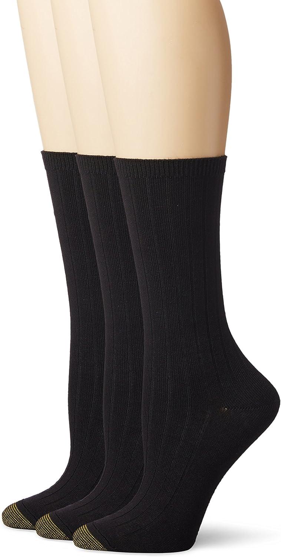 Gold Toe Women's Verona Crew Socks|,| 3-Pairs