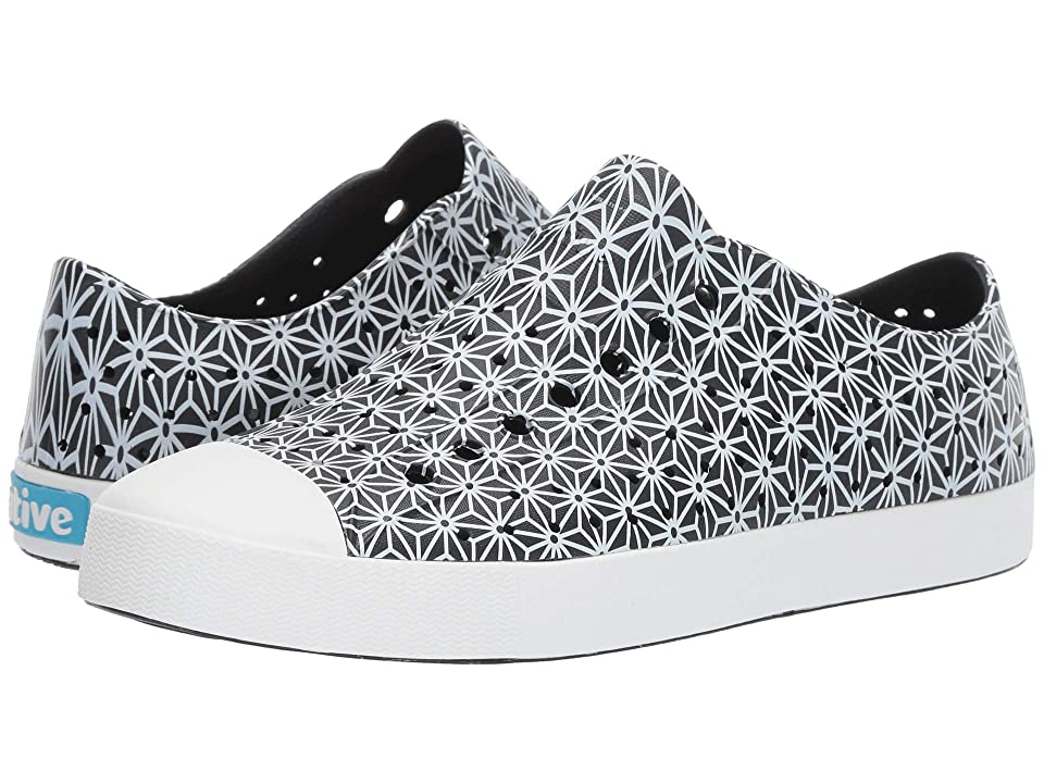 Native Shoes Jefferson (Jiffy Black/Shell White/Asanoha Print) Shoes