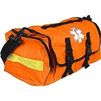 Dixie Ems Empty First Responder On Call Trauma Kit Bag w/ Reflectors Orange