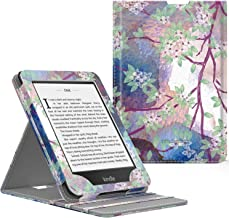 MoKo Case Fits Kindle Paperwhite (10th Generation, 2018 Releases), Premium Vertical Flip Cover with Auto Wake/Sleep Compatible for Amazon Kindle Paperwhite 2018 E-Reader - Lilac