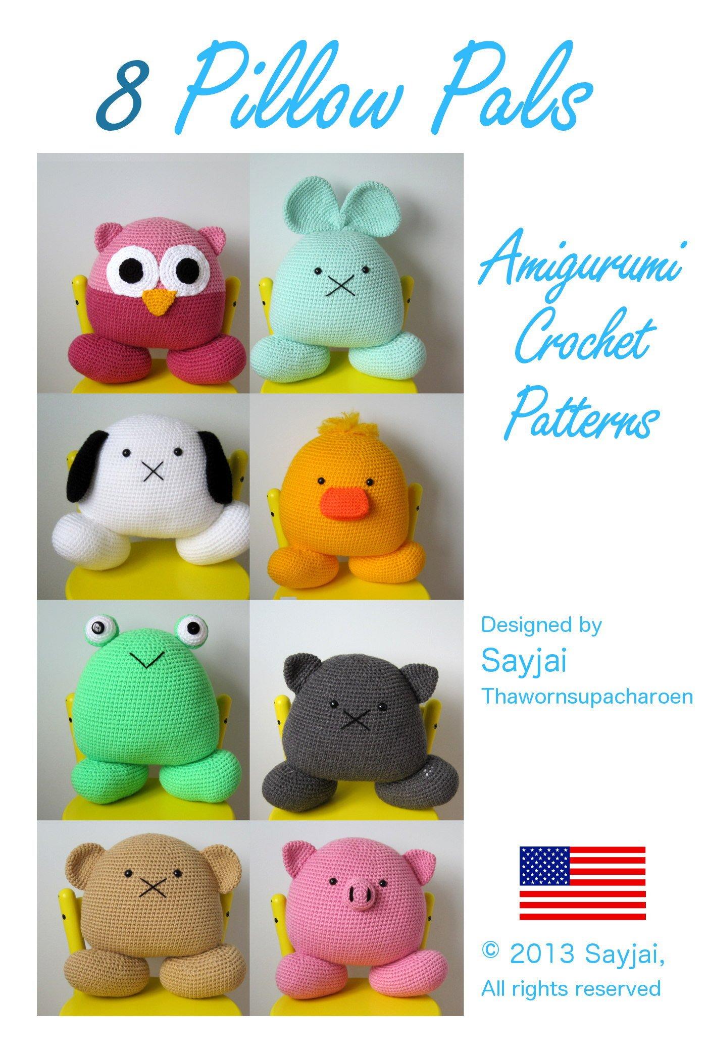 Crochet Doll & Animal Patterns - Patchwork Animals Crochet Pattern ... | 2100x1400
