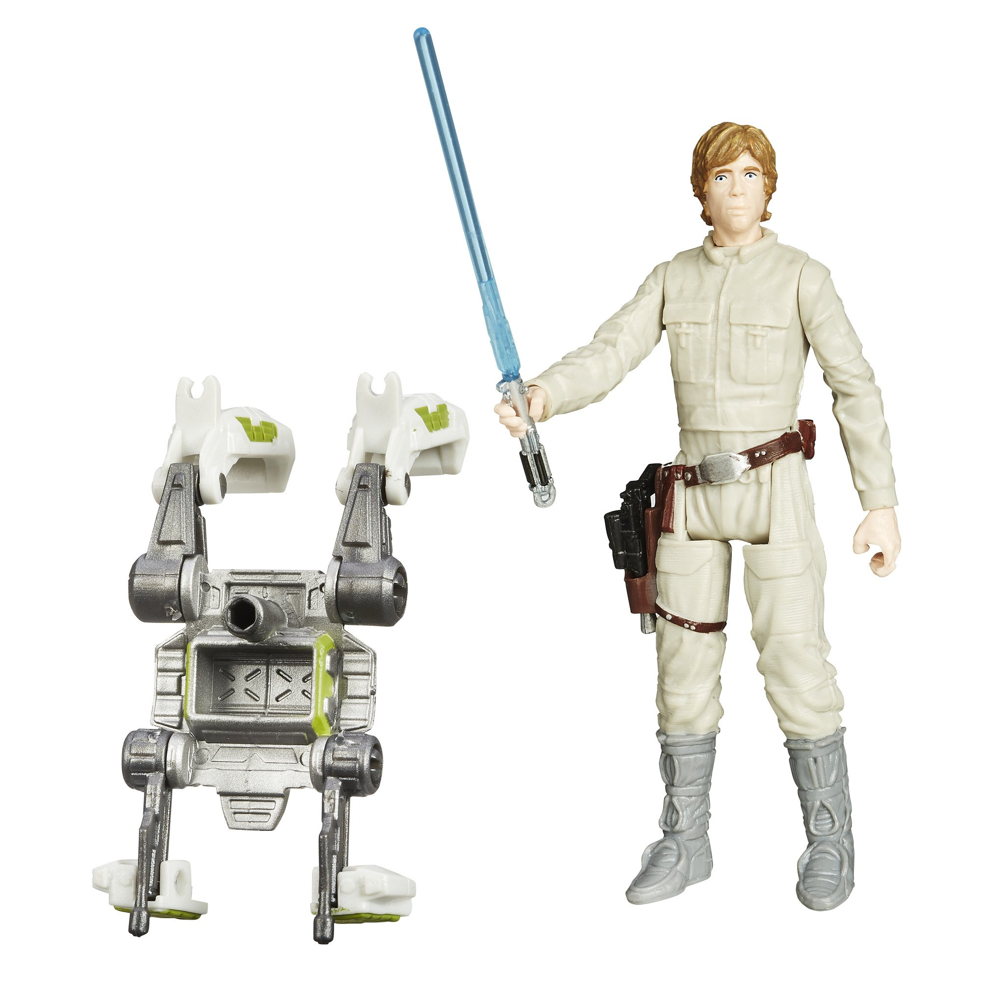 "3.75/"" Star Wars LUKE SKYWALKER  with light sword Action figure toy"