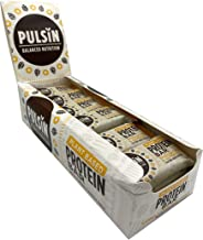 Pulsin Protein Snack – Vanilla Choc Chip 18 x 50g bars Gluten Free Vegan Dairy Free Estimated Price : £ 22,78