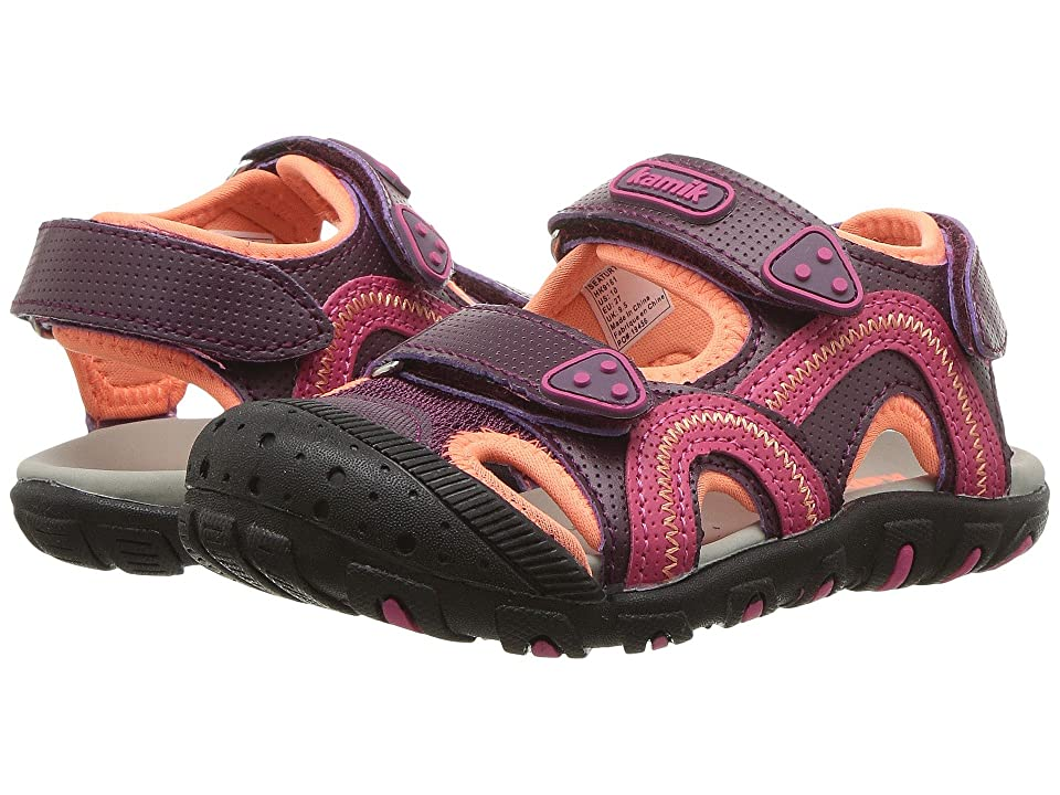 Kamik Kids Seaturtle (Toddler/Little Kid/Big Kid) (Dark Purple) Girl