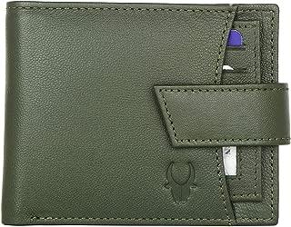WildHorn India Green Men's Wallet (WH272 Green)