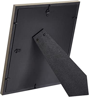 AmazonBasics Photo Frame for use with Instax - 4-Opening - 8.25 x 5.08 cm, Barnwood