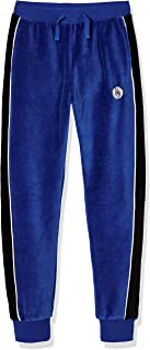 Kid Nation Kids Unisex Cozy Velour Sweatpants Pull On Track Jogger Pants for Boys and Girls 4-12 Years