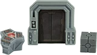 Star Wars Imperial Assault Custom Door, Terminal, & Crate Token 20 Piece Set by Loaded Dice Designs