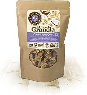 Cashew Coconut Crunch Baked Granola