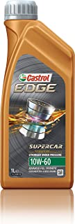 Castrol 12064-12PK 12064 Edge Supercar 10W-60 Advanced Full Synthetic Motor Oil, 1 L, 12 Pack