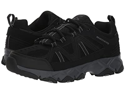 SKECHERS Crossbar (Black/Charcoal) Men