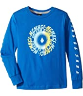 Volcom Kids - Stone Tide Long Sleeve Tee (Toddler/Little Kids)