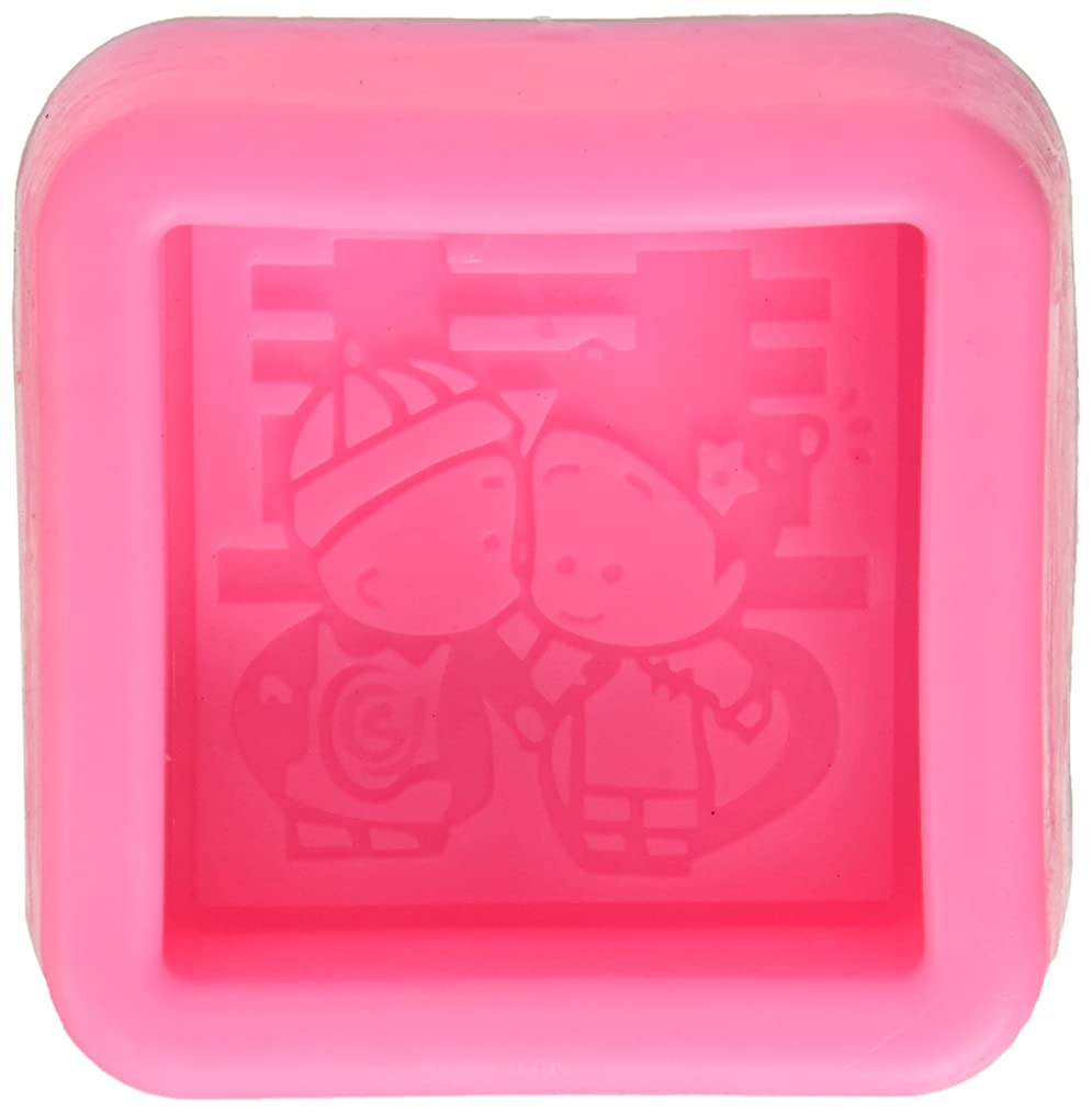 Longzang S474 Craft Wedding Chinese Style Silicone Soap Mold