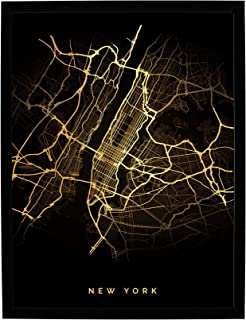 Postergaleria | Nowoczesny plakat w czarnej ramie | 50x70 cm