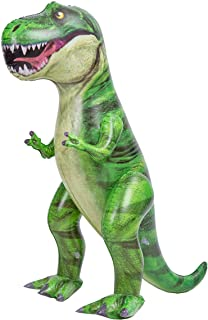 """JOYIN 37"""" T-Rex Dinosaur Inflatable, Tyrannosaurus Rex Inflatable Dinosaur Toy for Pool Party Decorations, Dinosaur Birthday Party Gift for Kids and Adults"""