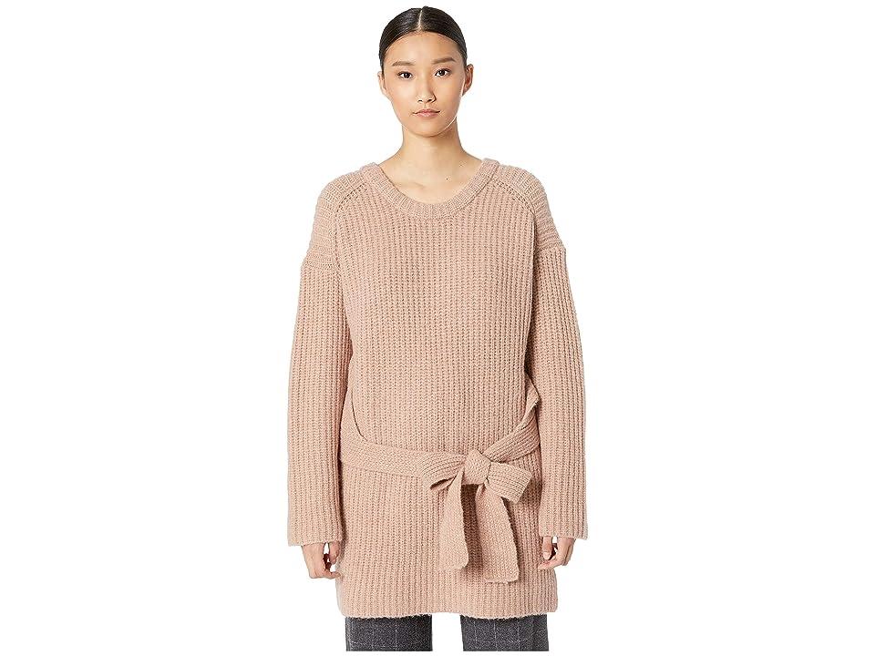 GREY Jason Wu Extrafine Merino Wool Knit Sweater Top (Oleander) Women