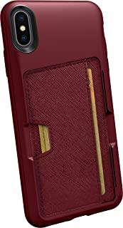 Best Smartish iPhone Xs Max Wallet Case - Wallet Slayer Vol. 2 [Slim Protective Kickstand] Credit Card Holder for Apple iPhone 10S Max (Silk) - Red Rover Red Rover Review