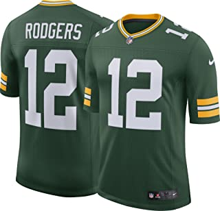 NIKE Mens Green Bay Packers Aaron Rodgers Jersey XX-Large