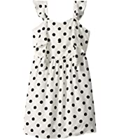 Spot Knot Dress (Big Kids)