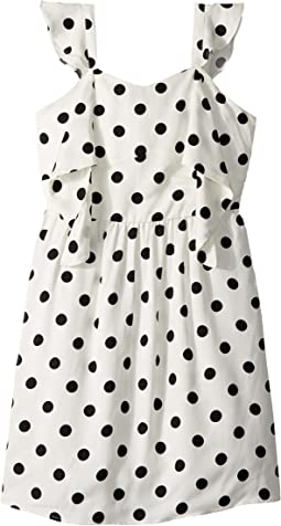 Bardot Junior - Spot Knot Dress (Big Kids)