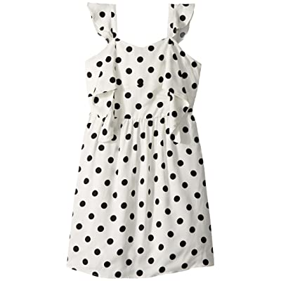 682342d79e26 Bardot Junior Spot Knot Dress (Big Kids) (White Spot) Girl's Dress