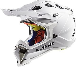 LS2 Helmets Motorcycle & Powersports Helmet's Off-Road Subverter (White, Large)