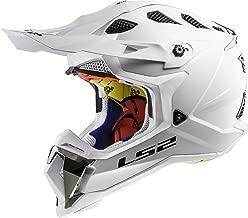LS2 Helmets Motorcycle & Powersports Helmet's Off-Road Subverter (White, Medium)