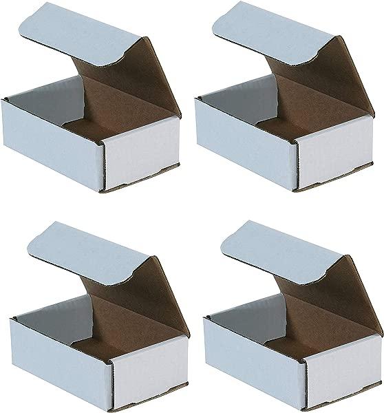 Aviditi Crush Proof Corrugated Mailer 6 X 4 X 2 Oyster White Bundle Of 50 M642 F Ur K
