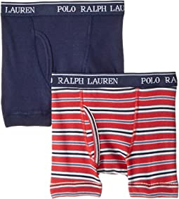 Polo Ralph Lauren Kids - 2-Pack Boxer Briefs (Little Kids/Big Kids)