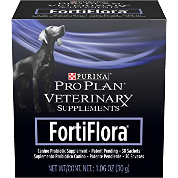 Purina Pro Plan Veterinary Supplements FortiFlora With Probiotics Canine Nutritional Dog Supplement
