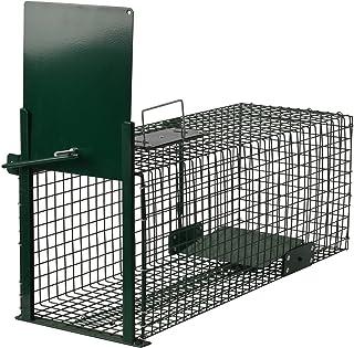 comprar comparacion Moorland Safe 5001 Trampa Animales Vivos - Martas Conejos Ratas - 60x23x23cm Trampa de Alambre - Resistente al Tiempo