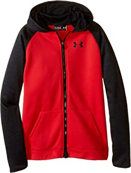 Under Armour Kids - Armour Fleece Storm Mag Zip Hoodie (Big Kids)