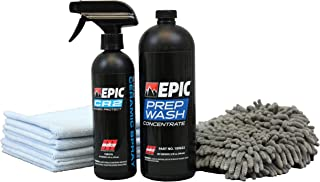 Malco Epic CR2 Ceramic Refresher Kit – Rejuvenates and Protects Vehicle Exterior Finishes/Includes 4 Professional Grade Products to Add Ceramic Protection to Your Car's Finish (800520)
