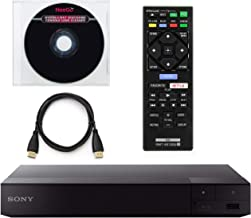 Sony BDP-S6700 4K Upscaling 3D Streaming Blu-Ray Disc Player with Built-in Wi-Fi + Remote Control + NeeGo HDMI Cable W/Eth...