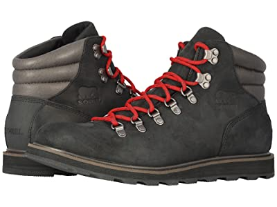SOREL Madson Hiker Waterproof (Black 2) Men