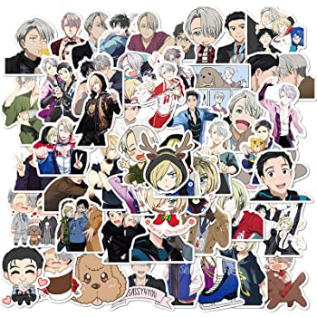 Yuri On Ice Anime Clear Stickers Series No 3 Lot Of 2