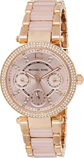 Michael Kors Women's Mini Parker Two-Tone Watch MK6110