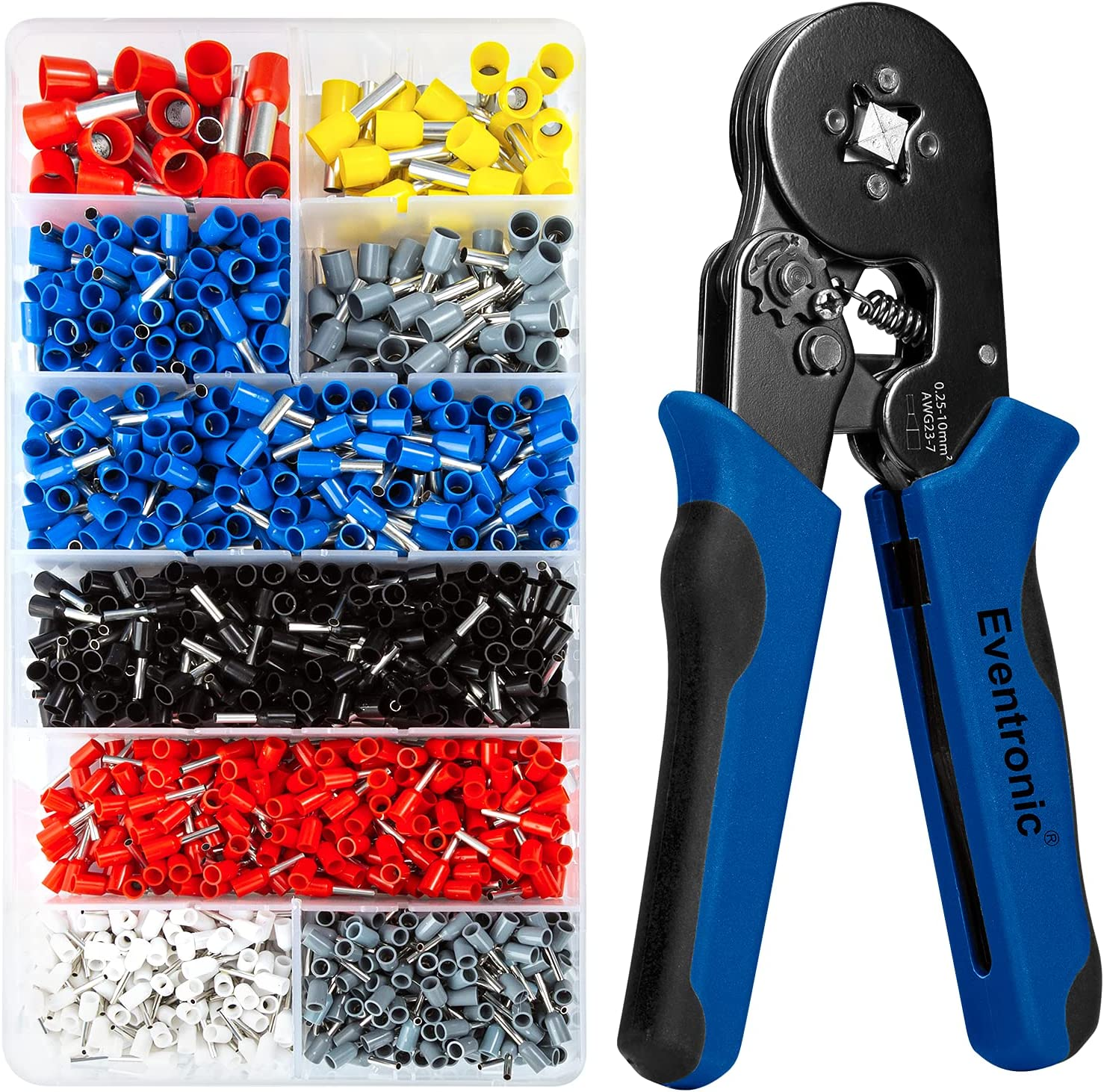 Eventronic Ferrule famous Crimping Max 69% OFF Tool AWG23-7 Professional Self- Kit
